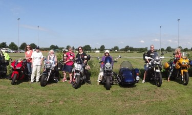 Some of us at the WIMA rally in 2014 at Ely