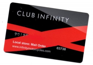 Infinity Club Card